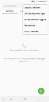Samsung Galaxy A7 (2018) - Messagerie vocale - configuration manuelle - Étape 7