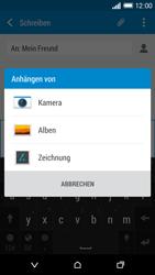HTC One M8 - MMS - Erstellen und senden - 1 / 1