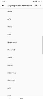 Sony Xperia 10 Plus - MMS - Manuelle Konfiguration - Schritt 12