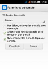 Alcatel OT-4015X Pop C1 - E-mails - Ajouter ou modifier un compte e-mail - Étape 22