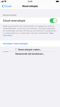 Apple iPhone 8 Plus - iOS 13 - Data - Maak een back-up met je account - Stap 13
