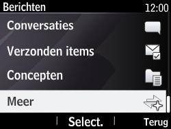 Nokia Asha 210 - Voicemail - Handmatig instellen - Stap 4