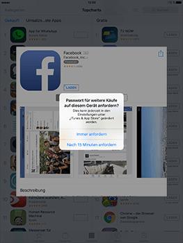 Apple iPad Air 2 - Apps - Konto anlegen und einrichten - 0 / 0