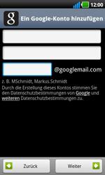 LG Optimus Black - Apps - Konto anlegen und einrichten - 7 / 19
