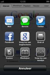 Apple iPhone 4 (iOS 6) - internet - hoe te internetten - stap 5