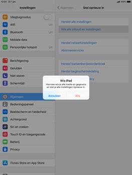 Apple ipad-mini-5-7-9-inch-2019-model-a2124 - Resetten - Fabrieksinstellingen terugzetten - Stap 6