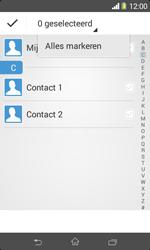 Sony D2005 Xperia E1 - Contactgegevens overzetten - delen via Bluetooth - Stap 7