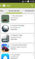 Samsung J100H Galaxy J1 - Applications - Download apps - Step 12