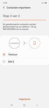 Samsung galaxy-a71-sm-a715f - Contacten en data - Contacten kopiëren van SIM naar toestel - Stap 12