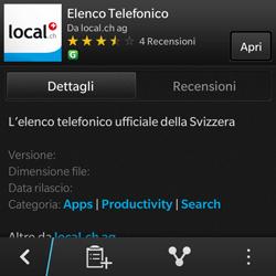 BlackBerry Q10 - Applicazioni - Installazione delle applicazioni - Fase 9