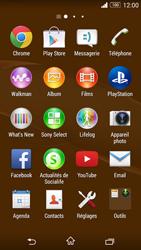 Sony Xperia Z3 Compact - Applications - Comment vérifier les mises à jour des applications - Étape 3
