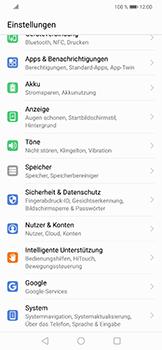 Huawei Nova 3 - Fehlerbehebung - Handy zurücksetzen - 6 / 11