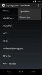 LG D821 Google Nexus 5 - MMS - Manuelle Konfiguration - Schritt 15