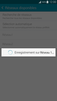 Samsung Galaxy Note 4 - Réseau - Sélection manuelle du réseau - Étape 11