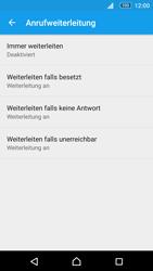 Sony Xperia M5 - Anrufe - Rufumleitungen setzen und löschen - 6 / 9