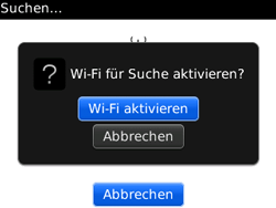 BlackBerry Curve - WLAN - Manuelle Konfiguration - 7 / 13
