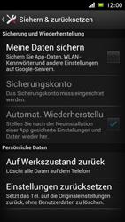 Sony Xperia J - Gerät - Zurücksetzen auf die Werkseinstellungen - Schritt 5