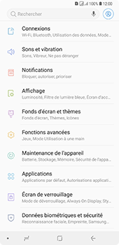 Samsung Galaxy A7 2018 - Sécuriser votre mobile - Activer le code de verrouillage - Étape 4