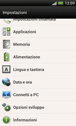 HTC Desire X - Software - Installazione degli aggiornamenti software - Fase 6