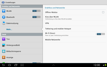 Samsung P5100 Galaxy Tab 2 10-1 - Ausland - Im Ausland surfen – Datenroaming - Schritt 7