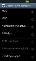 Samsung Galaxy Express - Internet und Datenroaming - Manuelle Konfiguration - Schritt 12