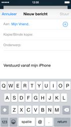 Apple iPhone 5c iOS 8 - E-mail - Bericht met attachment versturen - Stap 6