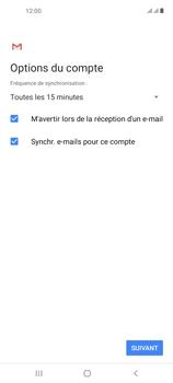Samsung Galaxy A21s - E-mails - Ajouter ou modifier un compte e-mail - Étape 20