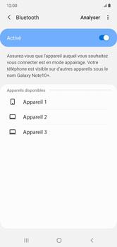 Samsung Galaxy Note 10+ - Internet et connexion - Connexion avec un équipement multimédia via Bluetooth - Étape 8