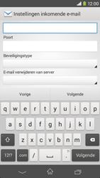 Sony Xperia M2 (D2303) - E-mail - Handmatig instellen - Stap 9