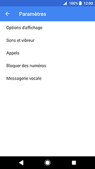 Sony Xperia XA2 Ultra - Messagerie vocale - configuration manuelle - Étape 7