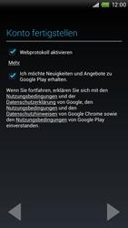 HTC One X - Apps - Einrichten des App Stores - Schritt 12