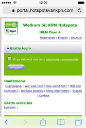 Apple iPhone 4 - WiFi - KPN Hotspots configureren - Stap 20