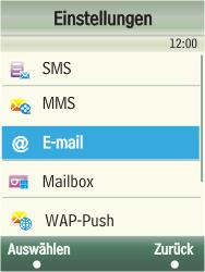 Samsung F480-TouchWiz - E-Mail - Konto einrichten - Schritt 5