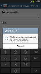 Samsung C105 Galaxy S IV Zoom LTE - E-mail - Configuration manuelle - Étape 10