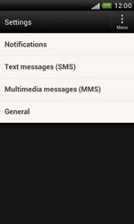 HTC T328e Desire X - SMS - Manual configuration - Step 4