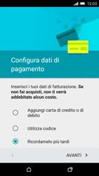 HTC One M9 - Applicazioni - Configurazione del negozio applicazioni - Fase 14
