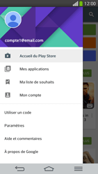 LG D955 G Flex - Applications - Comment vérifier les mises à jour des applications - Étape 5