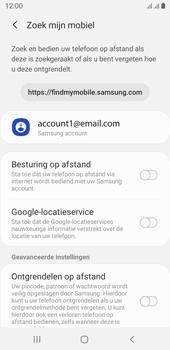 Samsung galaxy-j6-sm-j600fn-ds-android-pie - Beveiliging en ouderlijk toezicht - Zoek mijn mobiel inschakelen - Stap 6