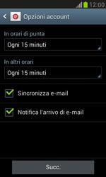 Samsung Galaxy S III Mini - E-mail - configurazione manuale - Fase 14