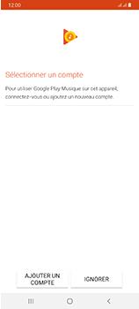 Samsung Galaxy A70 - Photos, vidéos, musique - Ecouter de la musique - Étape 4