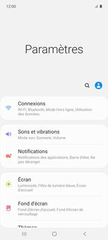 Samsung Galaxy A51 5G - Internet et connexion - Partager votre connexion en Wi-Fi - Étape 4