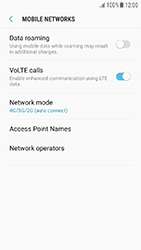 Samsung Galaxy J3 (2017) - Network - Enable 4G/LTE - Step 8