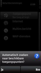 Nokia X6-00 - wifi - handmatig instellen - stap 7