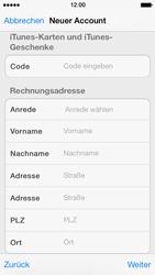 Apple iPhone 5 - Apps - Konto anlegen und einrichten - 30 / 36