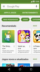 Motorola Moto G (3ª Geração) - Aplicativos - Como baixar aplicativos - Etapa 6