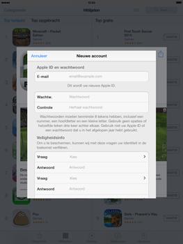 Apple iPad 4th generation (Retina) met iOS 7 - Applicaties - Account aanmaken - Stap 12