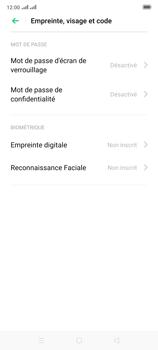 Oppo Reno 2 - Sécuriser votre mobile - Activer le code de verrouillage - Étape 5