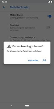 Google Pixel 3 - Ausland - Im Ausland surfen – Datenroaming - 9 / 12
