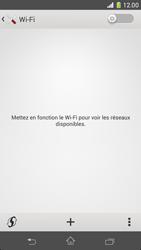 Sony Xperia Z1 Compact - WiFi - Configuration du WiFi - Étape 5