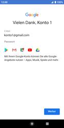 Sony Xperia XZ2 Compact - Android Pie - Apps - Konto anlegen und einrichten - Schritt 19
